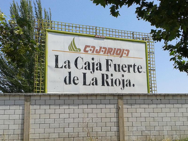 Publicidad indultada en Logroño