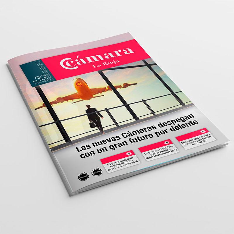 Diseño de revistas en Logroño